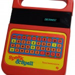 1986 model American Speak & Spell model
